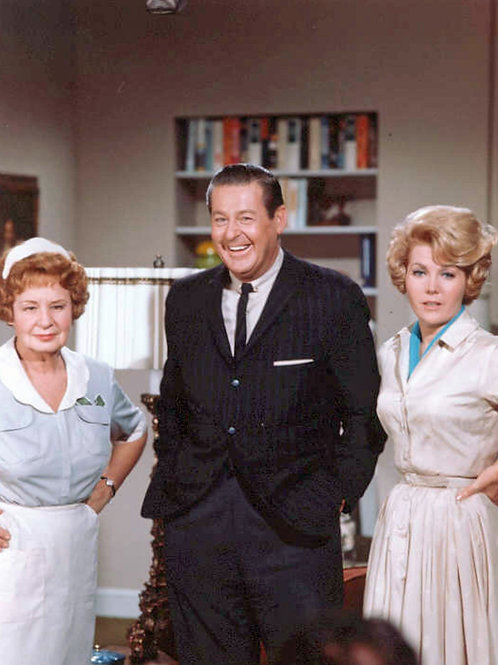 Cast of Hazel with Shirley Booth