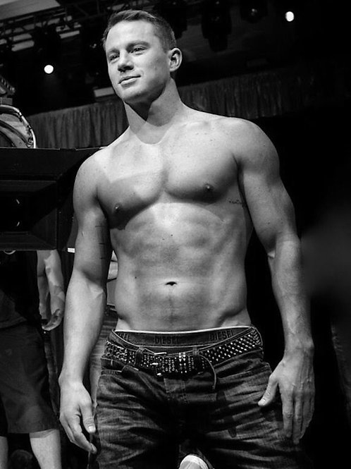 Channing Tatum Without his Shirt