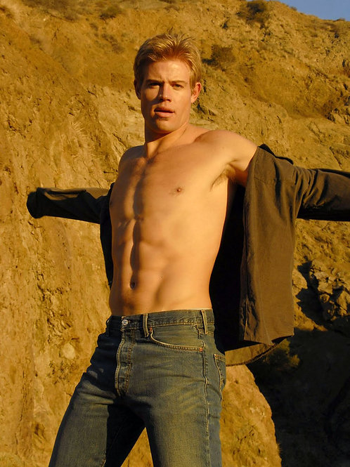 Ripped Trevor Donovan Showing off his Perfect Chest