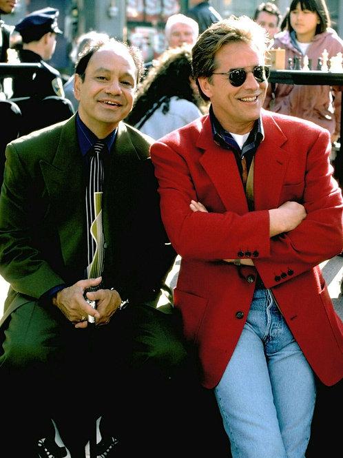 Don Johnson & Cheech Marin in Nash Bridges
