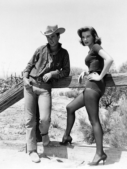 Ricky Nelson Bulging in his Pants Next to Angie Dickinson