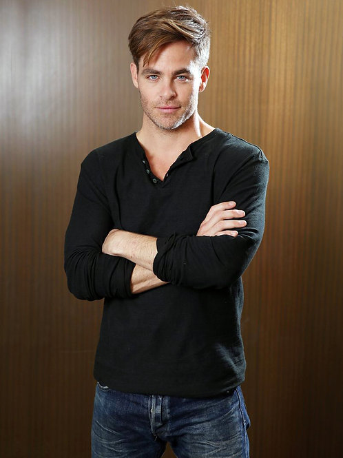 Chris Pine Arms Folded
