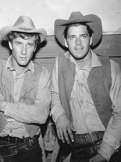 Van Williams as a Cowboy