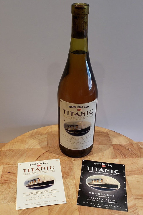 Titanic Wine & Champagne Labels - Custom made stickers for your bottle
