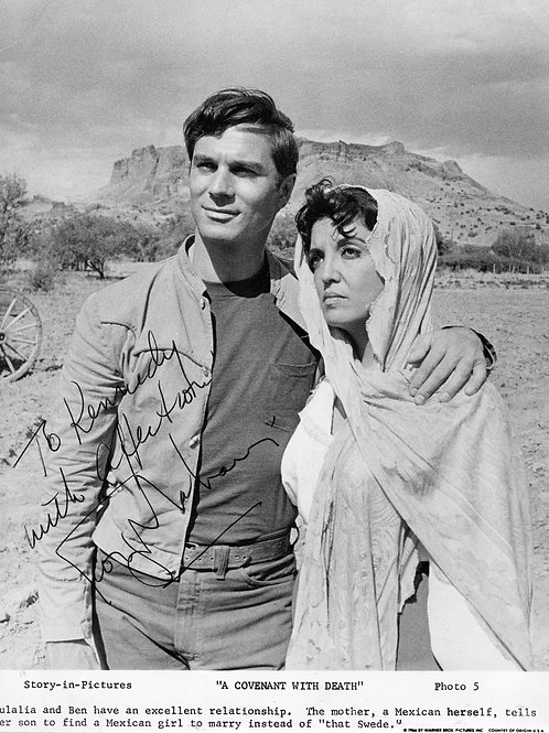 George Maharis in a Covenant with Death
