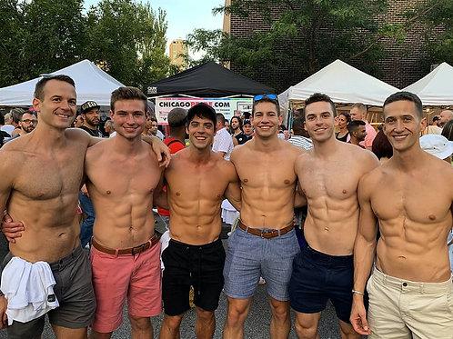 6 Hunks at the Fair