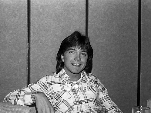 David Cassidy Relaxing in the 70s