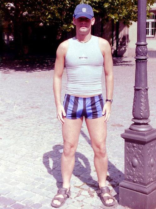 Vintage Striped Shorts