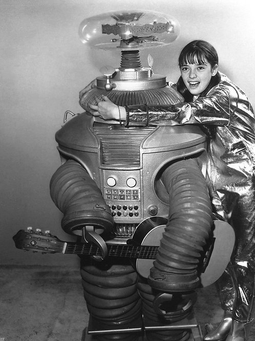 Angela Cartwright & the Robot