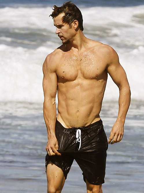 Ryan Kwanten at the Beach