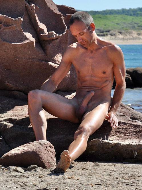 Alone on a Boulder