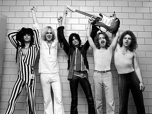Aerosmith Bulging in Tight Pants Back in the 70's