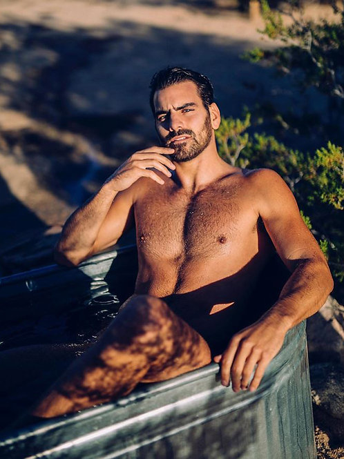 Nyle DiMarco Soaking Outside