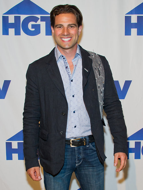 Scott McGillivray Wearing Faded Jeans