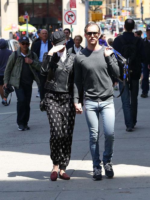 Adam Shulman in New York Bulging in Skinny Jeans