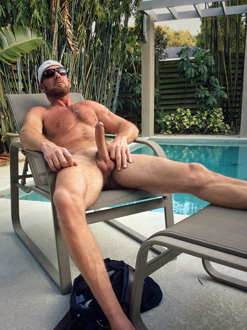 Hard on the Pool Chair
