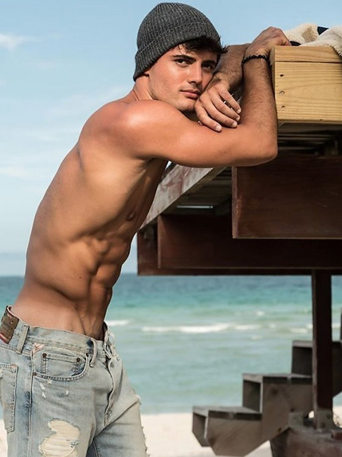 Dan Carter by the Ocean