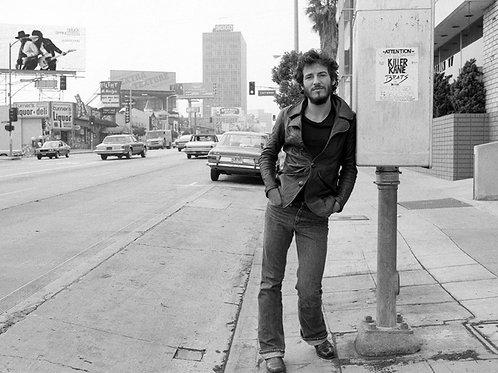 Bruce Springsteen on Sunset Strip