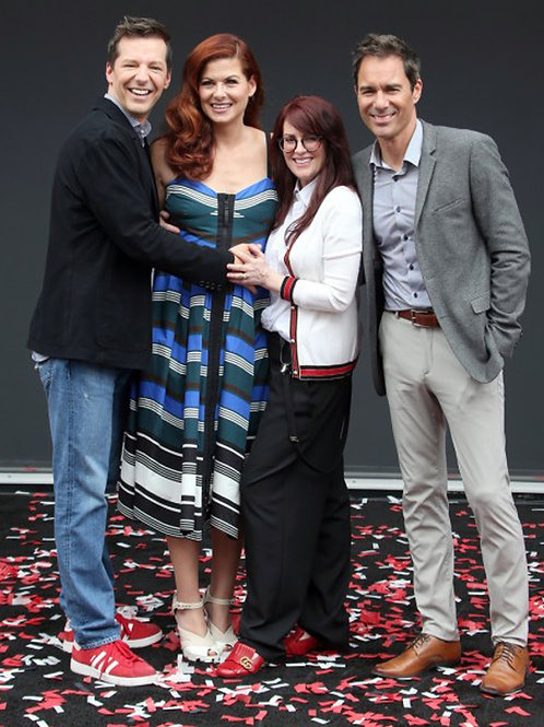 Eric McCormack & Cast of Will & Grace