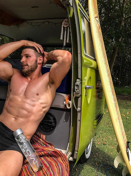 Just Waiting in his Van