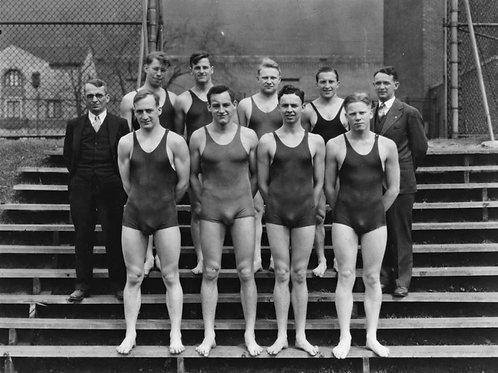 Bulging 1930 Swim Team