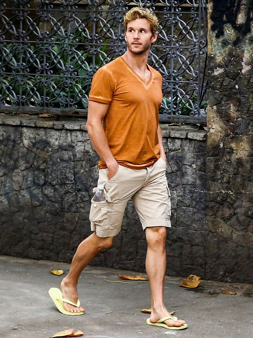 Ryan Kwanten Taking a Walk