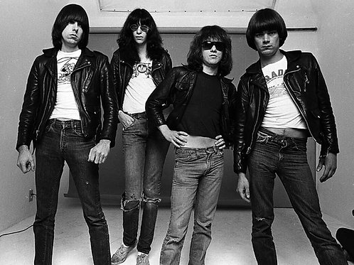 Bulging in Jeans Guys from The Ramones