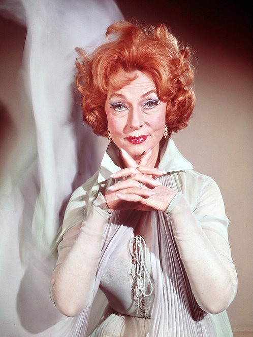 Agnes Moorehead in Costume as Endora From Bewitched