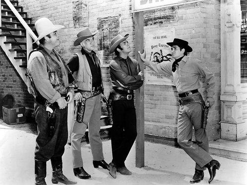 Bonanza Cast in Dodge City