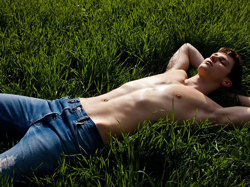 Resting on the Grass