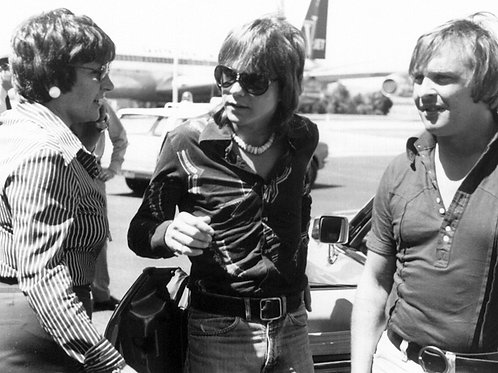 David Cassidy in 1974 at the Airport