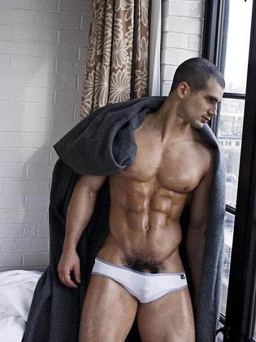 Blanket Over his Shoulders