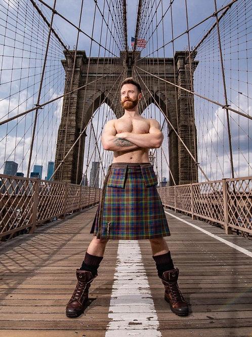 Kilt on a Bridge