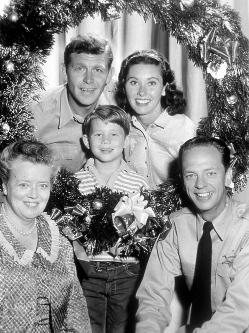 Andy Griffith Show Cast Christmas Photo