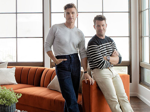 Nate Berkus and Jeremiah Brent at Home