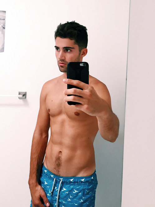 Max Ehrich Taking a Selfie