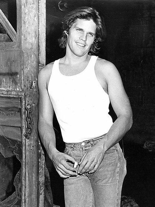 Scott McGinnis in a Barn
