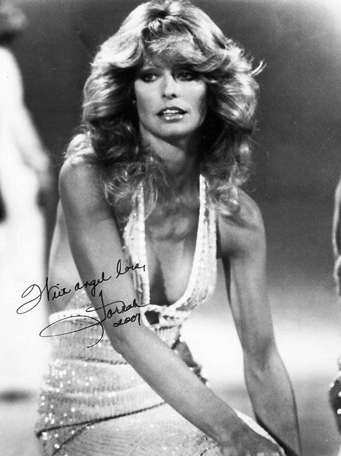 Farrah Fawcett in the mid 70s