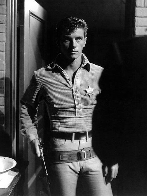 Peter Brown as the Sheriff