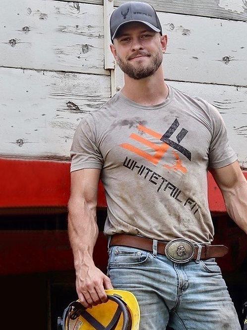 Handsome Bulging Construction Worker