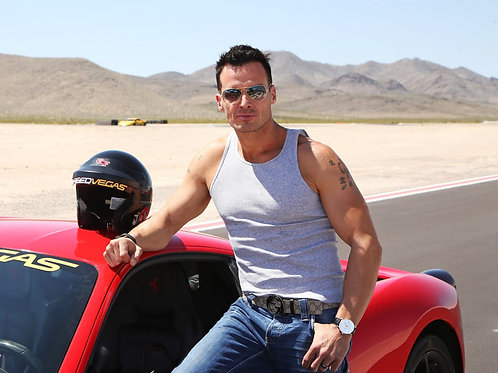 Antonio Sabato Jr. Racing Car