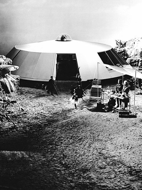 Set of the Jupiter 2 in Lost in Space