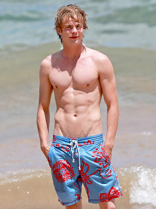Graham Rogers at the Beach