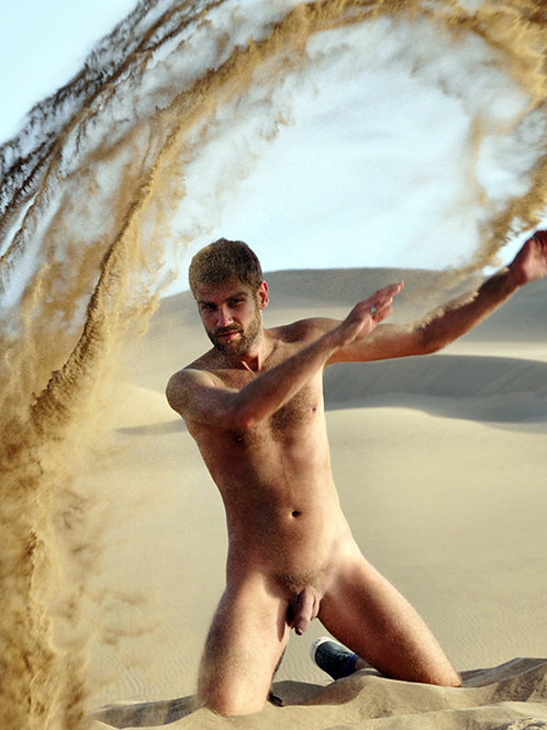 Tossing Sand on the Beach