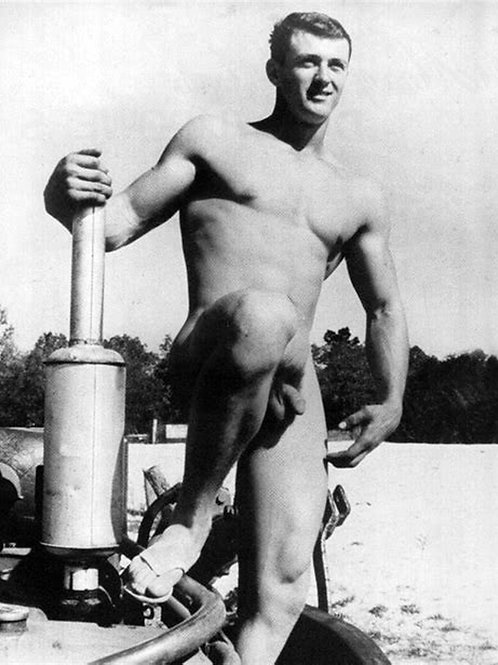 Nude Rock Hudson for Playgirl