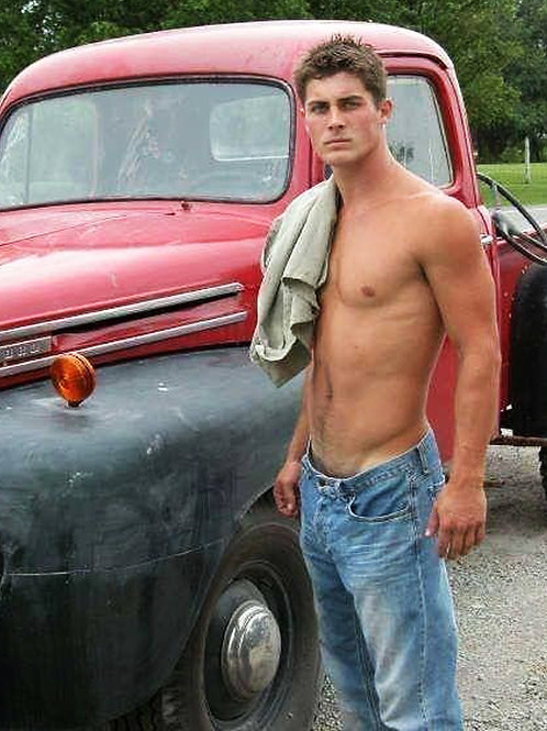 By his Old Ford Truck