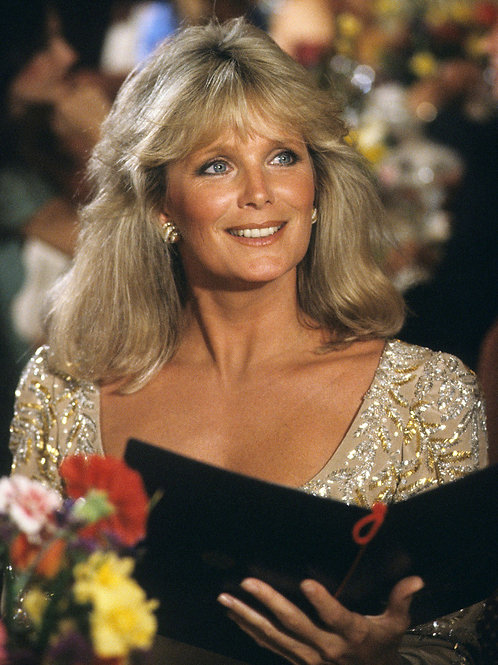 Lovely Linda Evans as She Appeared on an Episode of The Love Boat