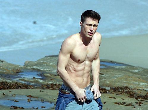 Colton Haynes Shirtless