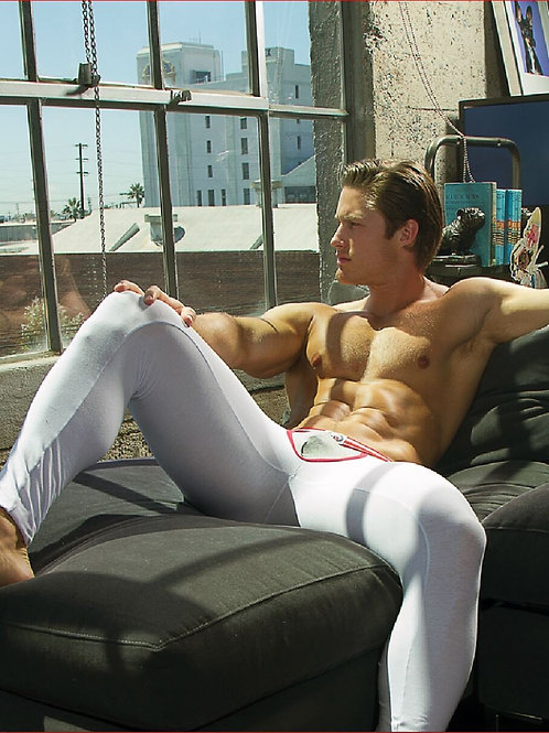 Colby Lefebvre Relaxing on the Sofa