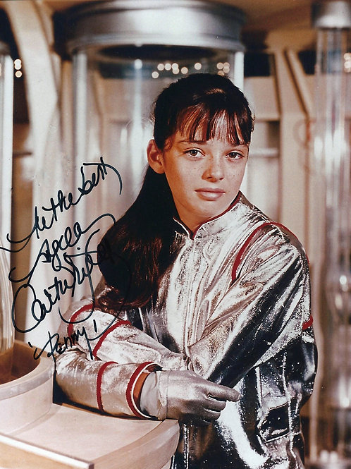 Angela Cartwright as Penny Robinson in Her Silver Spacesuit